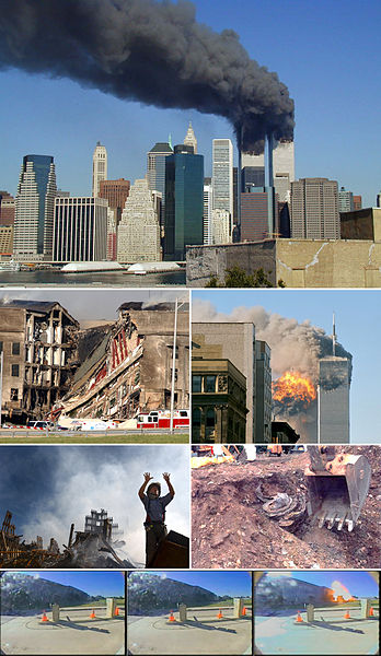 September 11 Photo Montage.jpg,<br> foto: UpstateNYer<br>wik