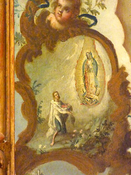 Virgin of Guadalupe, Luisalvaz, CC BY-SA 4.0, commons.wikimedia.or