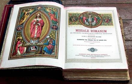 "Missale Romanum"" 18th edition, 1915, JoJan,  CC BY 3.0, tl.wikipedia.org"