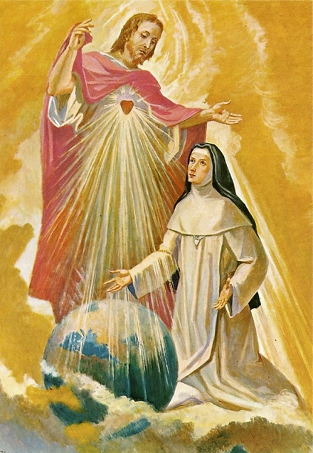 Maria Droste zu Vischering and the Sacred Heart of Jesus. Public Domain, commons.wikimedia.org