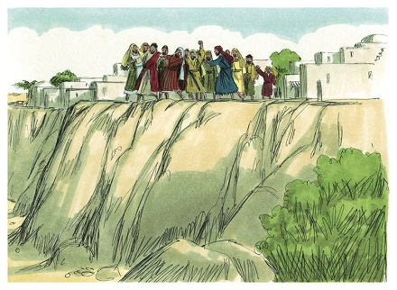 Gospel of Luke Chapter 4-18, Biblical illustrations by Jim Padgett, BY-SA 3.0, commons.wikimedia