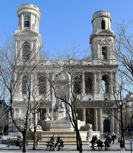 Saint-Sulpice church - Paris, Mbzt, BY-SA 3.0
